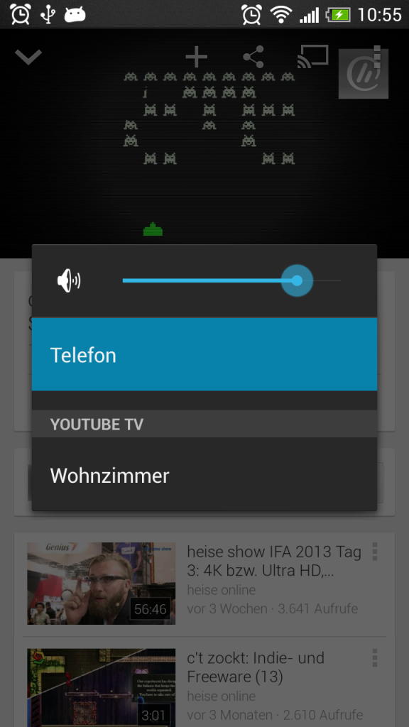 Screenshot Youtube App
